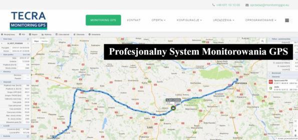 Tecra Krzysztof Dekajło - Monitoring pojazdów GPS Warszawa