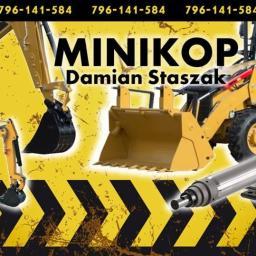Minikop - Krótkoterminowy wynajem maszyn budowlanych Pleszew