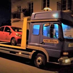 Assistance POMOC DROGOWA holowanie aut pojazdów Laweta 24h Kałuszyn Mińsk Mazowiecki 722 15 15 14