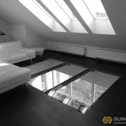 Podłoga ze szkła - Sunglass