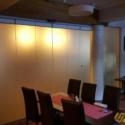 Ścianka mobilna ze szkła - Sunglass