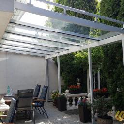 zadaszenie tarasu ze szkła - Sunglass