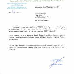 MATCOMP JACEK SYRYJCZYK - Usługi Biała Rawska