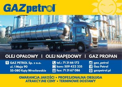 Gaz Petrol Sp. z o.o. - Dostawca Gazu Kąty Wrocławskie