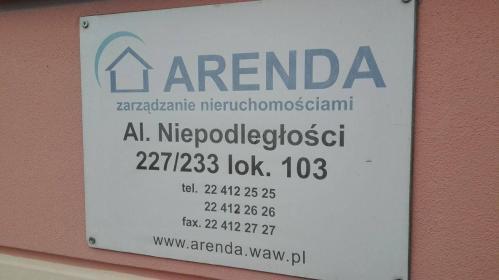 Arenda Sp. z o.o. - Zarządzanie Nieruchomościami Warszawa