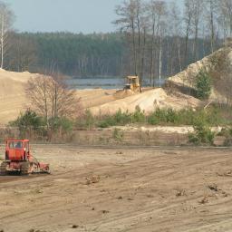 Rekultywacja kopalni - równanie terenu