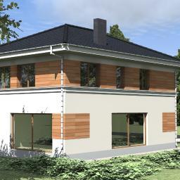 Projekt budynku mieszkalnego jednorodzinnego Warszawa Wesoła