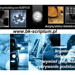 BIURO KRYMINALISTYCZNE SCRIPTUM - Pomoc Prawna Warszawa