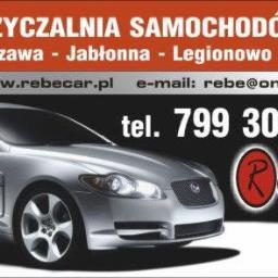 Wypożyczalnia samochodów Rebe Car - Wypożyczalnia samochodów Warszawa
