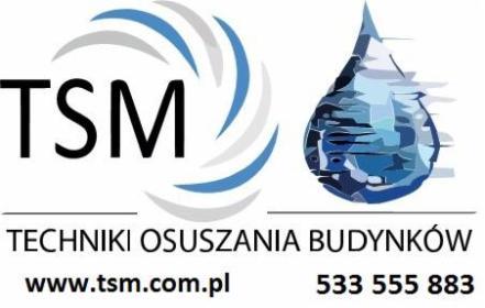 TSM Osuszanie Budynków Poznań, Warszawa, Wrocław, Łódź - Osuszanie Poznań