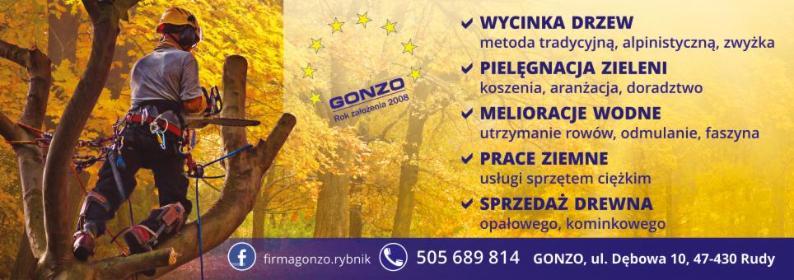 Firma Gonzo - Brykiet Dębowy Rudy
