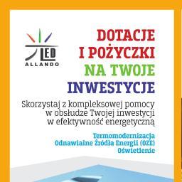 Allando sp. z o.o. - Dotacje unijne Tuszyn