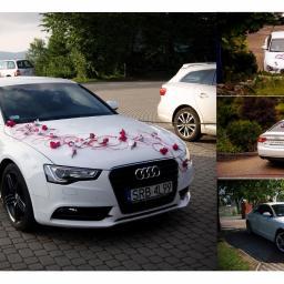 Białe Audi A5 do ślubu wesela 2012 od 350zł Rybnik i okolice - Naklejki na Zamówienie Jejkowice