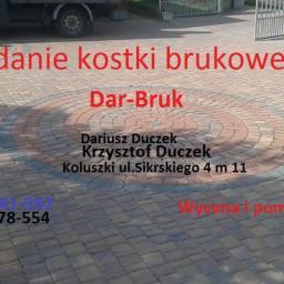 Dar-Bruk - Układanie kostki brukowej Koluszki