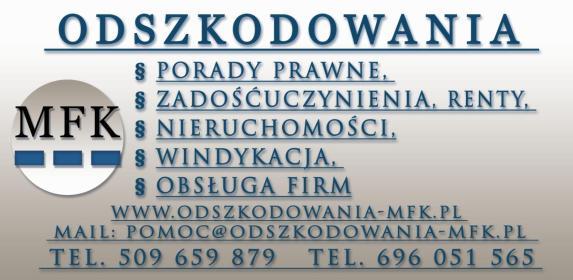 MFK Doradztwo i Windykacja sp. z o.o. - Adwokat Łódź