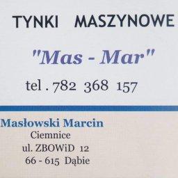 """""""Mas-Mar"""" Marcin Masłowski - Budownictwo Ciemnice"""