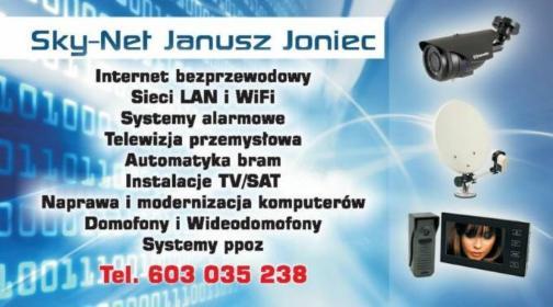 Sky-Net Janusz Joniec - Instalatorstwo telekomunikacyjne Limanowa