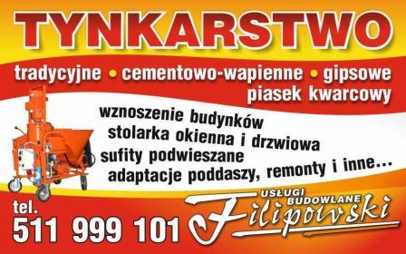USŁUGI BUDOWLANE- KRZYSZTOF FILIPOWSKI - Tapetowanie Bogoria