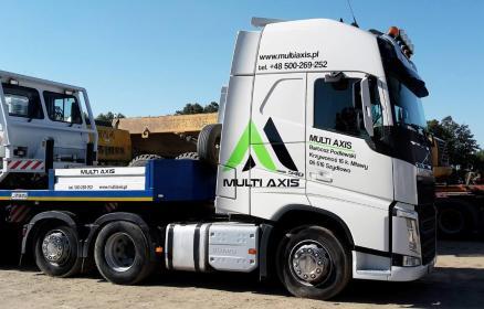 Multi Axis - Transport ciężarowy krajowy Stupsk