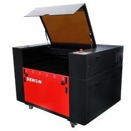 Ploter Laserowy SERON SL 9060, Grawerka, Laser CNC (90x60 cm)