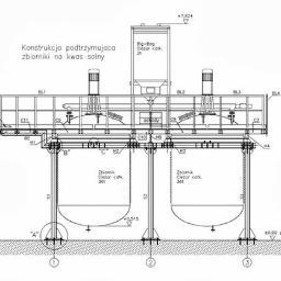 Projektujemy konstrukcje stalowe, wykonujemy obliczenia sprawdzające konstrukcji istniejących.