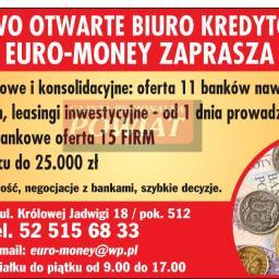 Euro-money - Kredyt Obrotowy Bydgoszcz