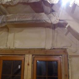 natrysk pianą zamkniętokomorową stropodachu,ścian