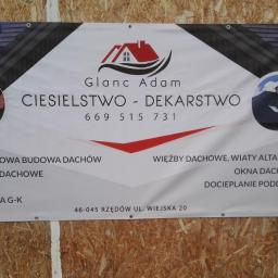 USŁUGI REMONTOWO-BUDOWLANE GLANC ADAM - Dachy Turawa