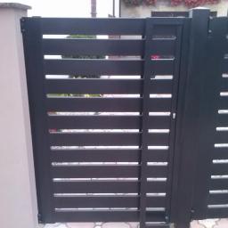 Zamontowana bramka