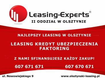 LEASING EXPERTS II Oddział w Olsztynie - Ubezpieczenie firmy Olsztyn
