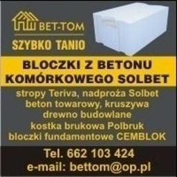 BET-TOM - Pokrycia dachowe Tyczyn