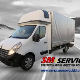 SM-Service Logistic LTD - Transport międzynarodowy do 3,5t  Glesgow