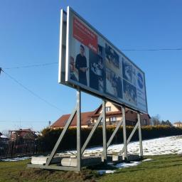 Billboard-druk Kacper Obydziński - Drukowanie Słomniki