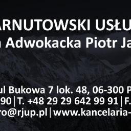 Adwokat Piotr Jarnutowski. Kancelaria Adwokacka w Przasnyszu rjup.pl - Kancelaria prawna Przasnysz