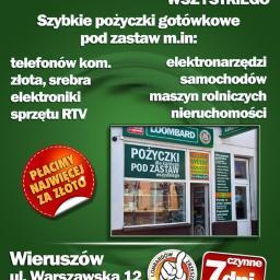 Euro Lombard Rafał Filipiak - Doradcy Finansowi Wieruszów