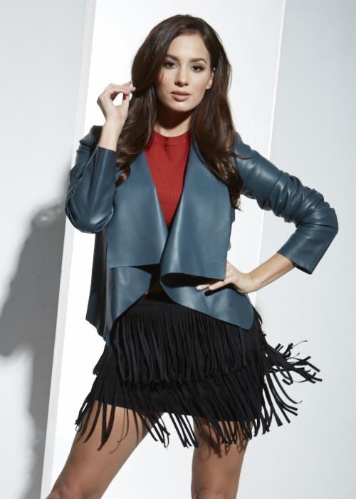 Modne płaszcze damskie skórzane marki FRATELLI . Fratelli
