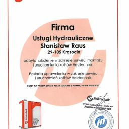 Usługi Hydrauliczne Stanisław Raus - Firmy Krasocin