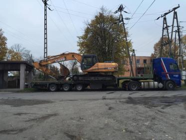 Transport Towarow - Prace działkowe Pomiechówek