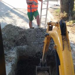 Prace Wodno-Kanalizacyjne Przyłacza Kanalizacyjne - Przyłącza Wodociągowe Żmigród