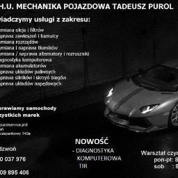 P.H.U. Mechanika Pojazdowa - Serwis motoryzacyjny Poznań