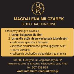 Magdalena Milczarek Biuro Rachunkowe - Usługi Gostynin