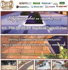 BiPiBruk - Nawierzchnie Pabianice