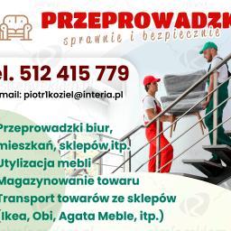 PIOTR KOZIEŁ F. H. U. USŁUGI TRANSPORTOWE - Firma transportowa Gołcza