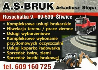 A.S-BRUK Arkadiusz Stopa - Elewacje Śliwice
