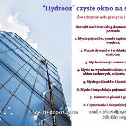 Hydrooz Zbigniew Oniśko - Odśnieżanie dachów Białystok