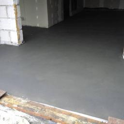 Posadzki cementowe