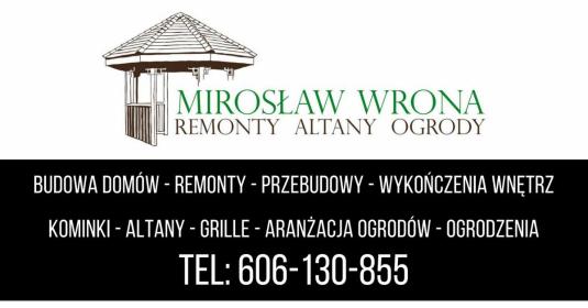 Zakład Usług Wielobranżowych Mirosław Wrona - Budowa domów Busko-Zdrój