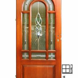 Drewniane drzwi zewnętrzne, wewnętrzne i okna