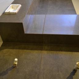 Łazienka wg projektu - gres 45x90