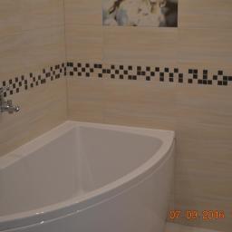Łazienka w/g projektu